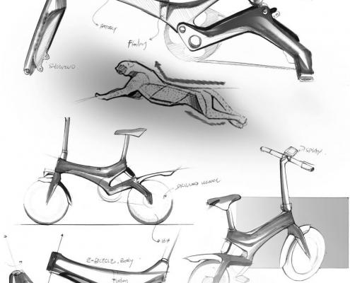 Električna kolesa, Električni skiroji