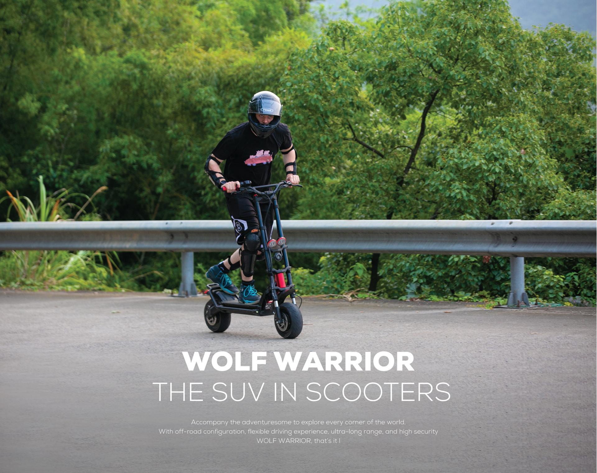 kaabo wolf warrior offroad slovenia