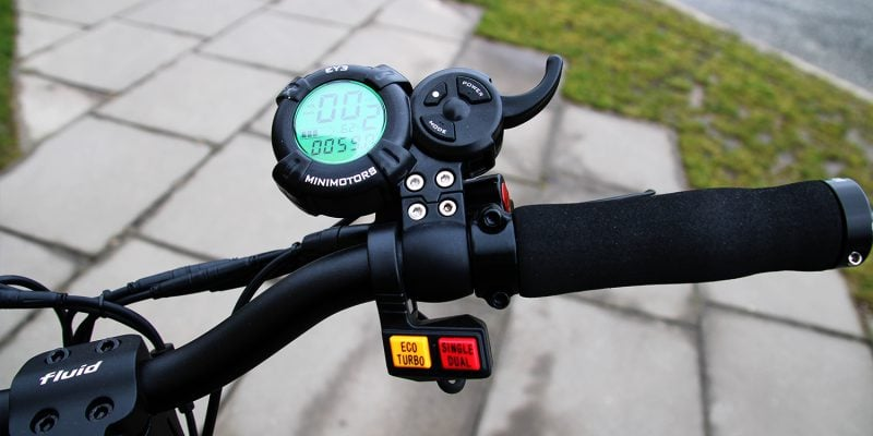 kaabo minimotors zaslon