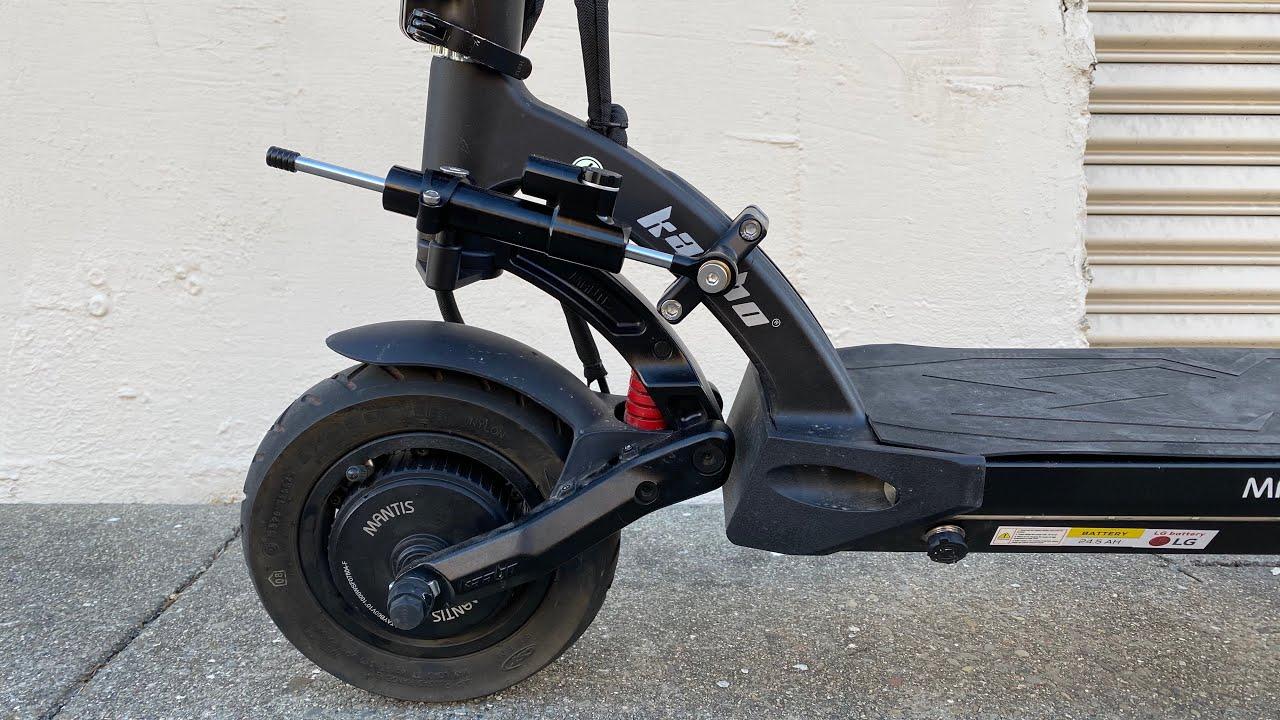 kaabo steering damper