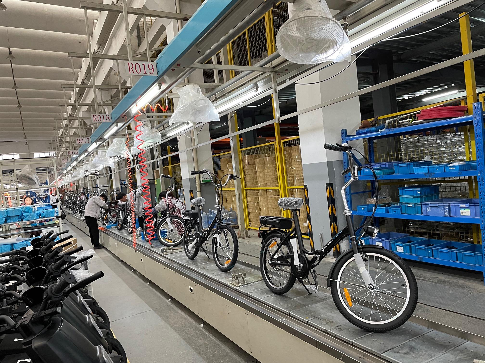 electric bike renault